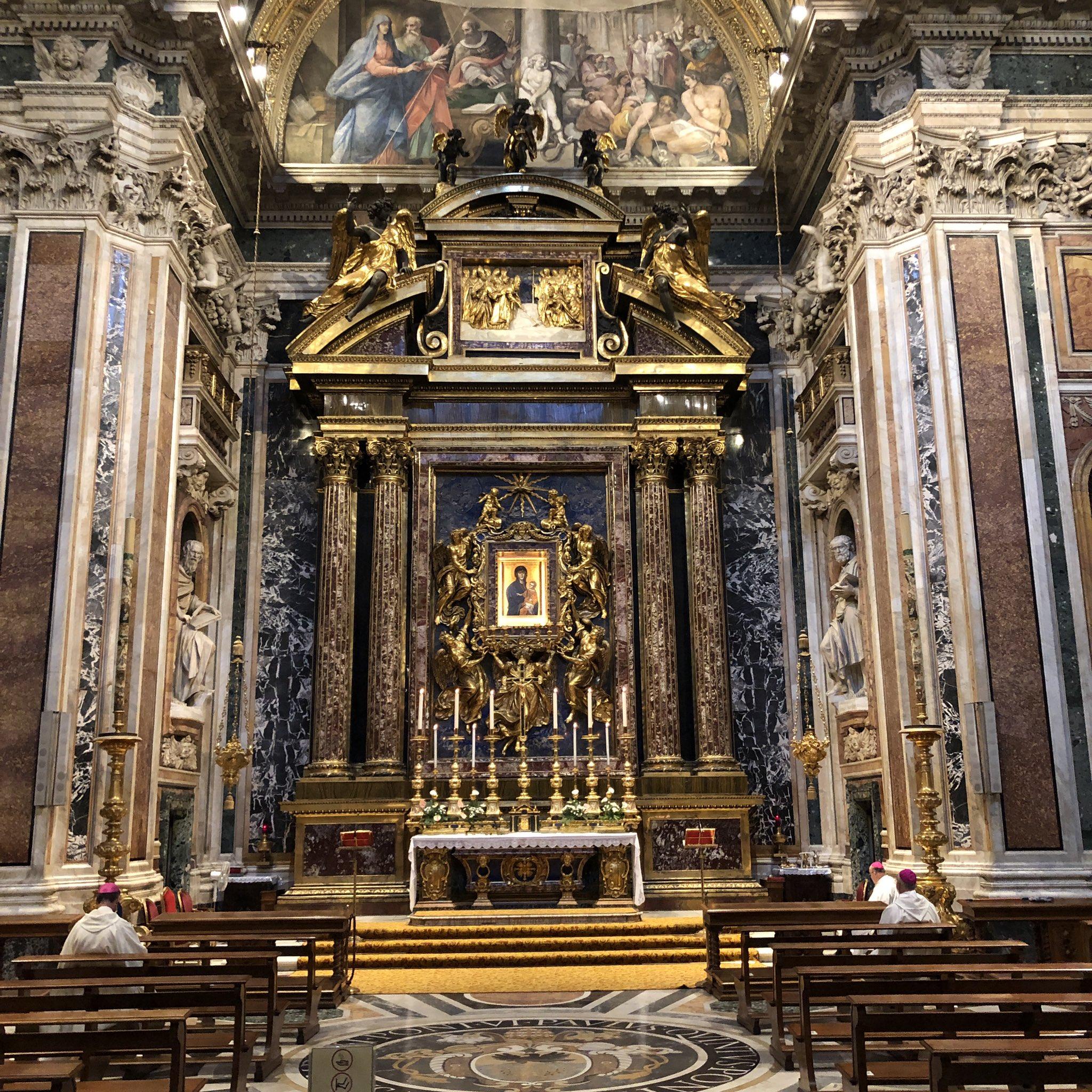 Rome: les évêques français célèbrent à la basilique Sainte-Marie-Majeure