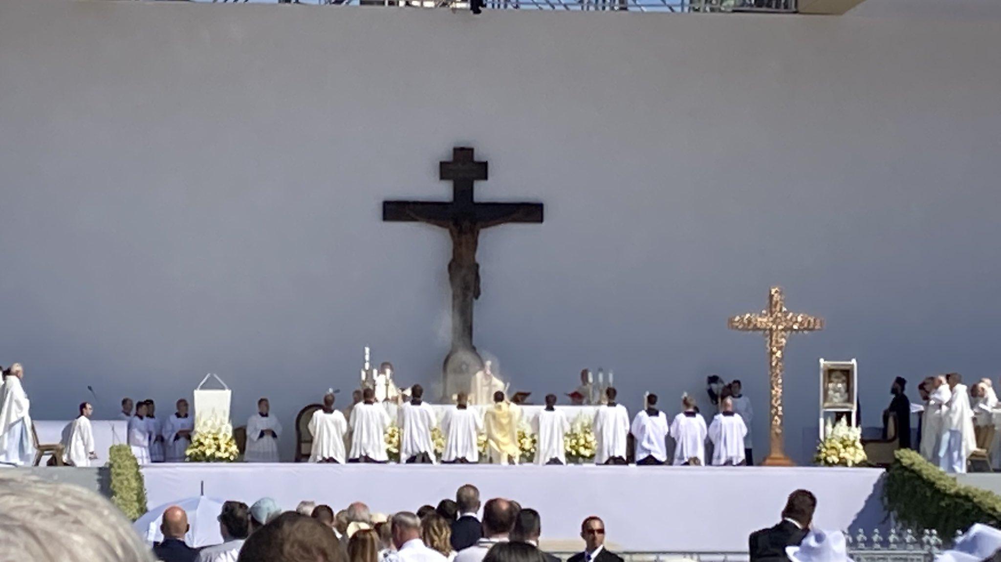 Budapest: conclusion du Congrès eucharistique par le Pape François
