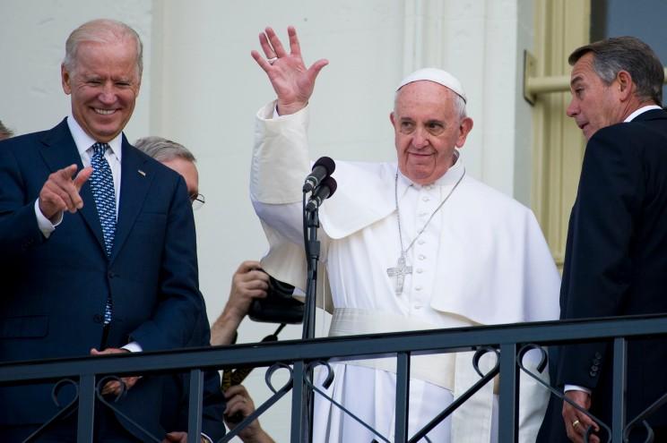 Joe Biden sera reçu par le Pape à la fin du mois d'octobre