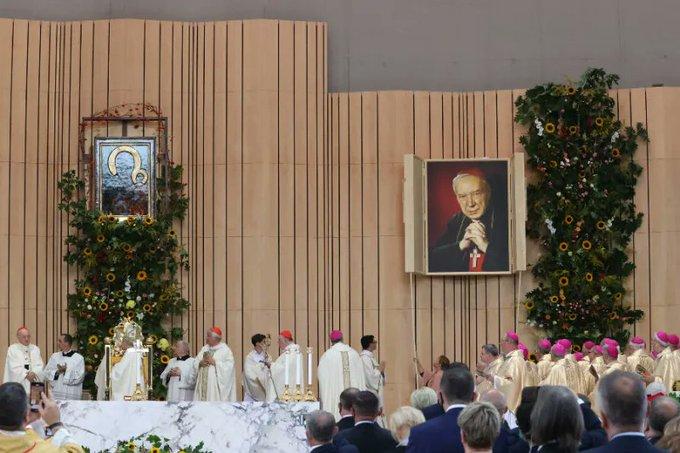 Varsovie: béatification du cardinal Stefan Wyszyński